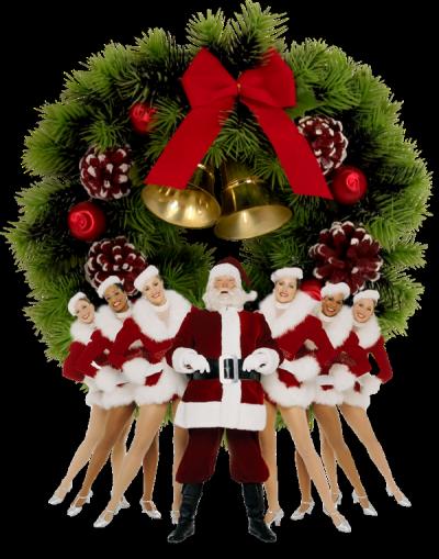 Венок рождественский PNG. Рождественские венки