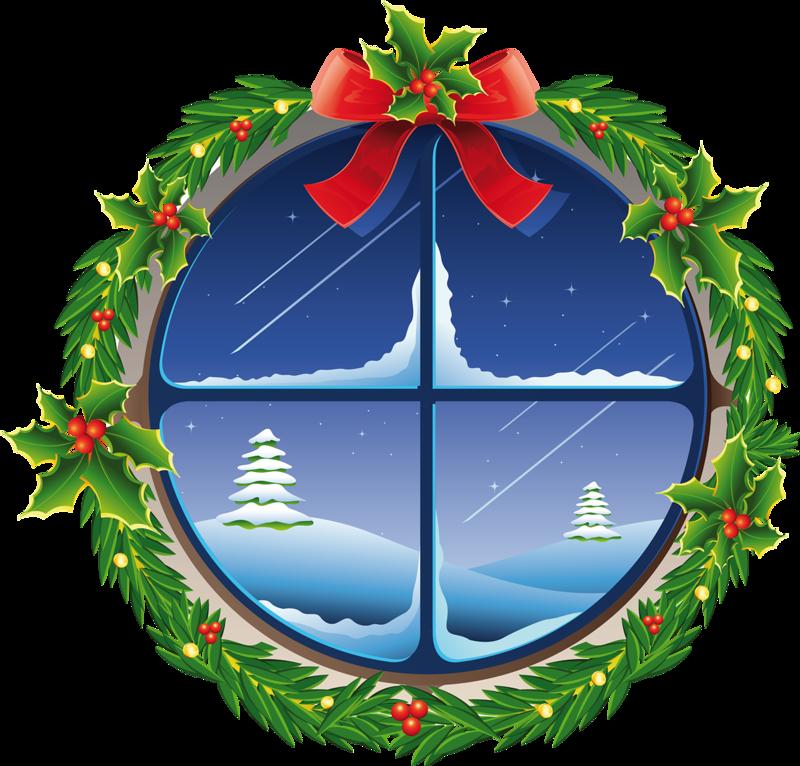 Рождественское окно