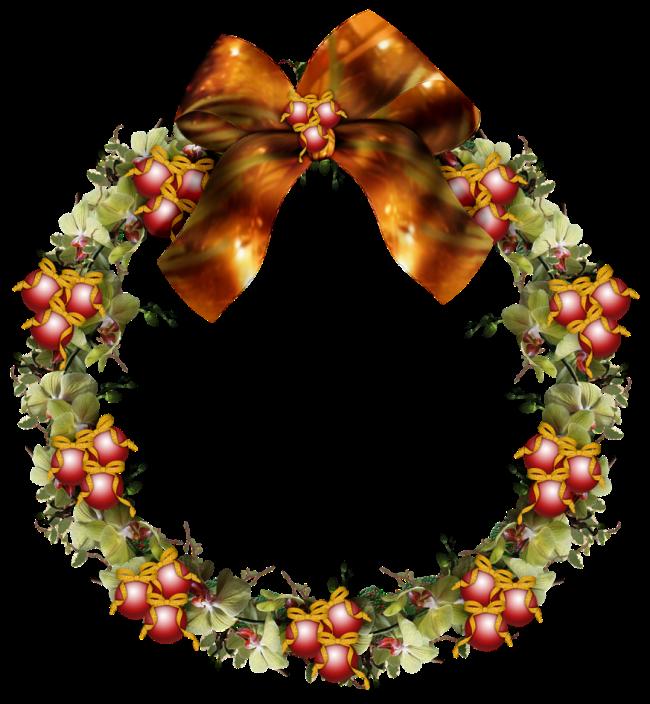 Рождественский венок клипарт. Рождественские венки