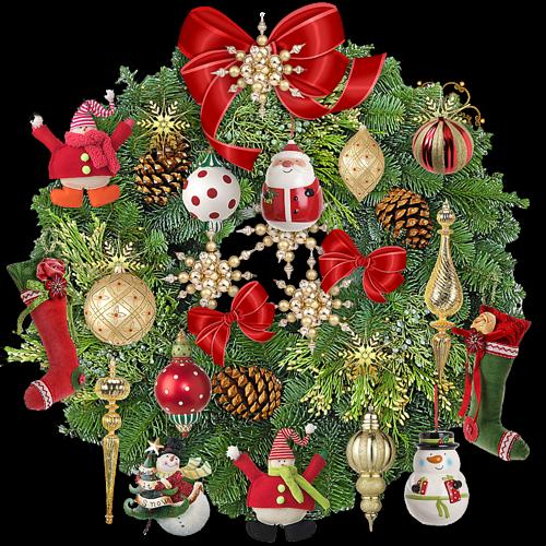 Рождественский венок. Рождественские венки