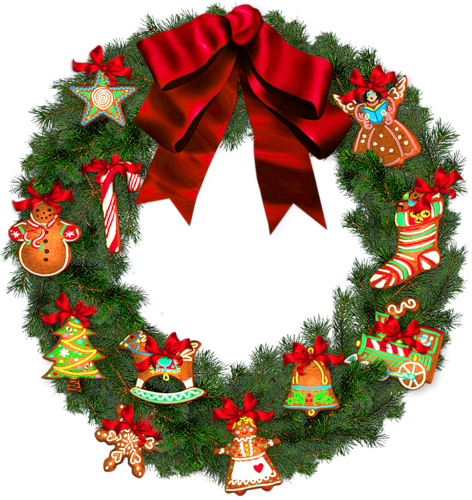 Адвент 2017. Рождественские венки