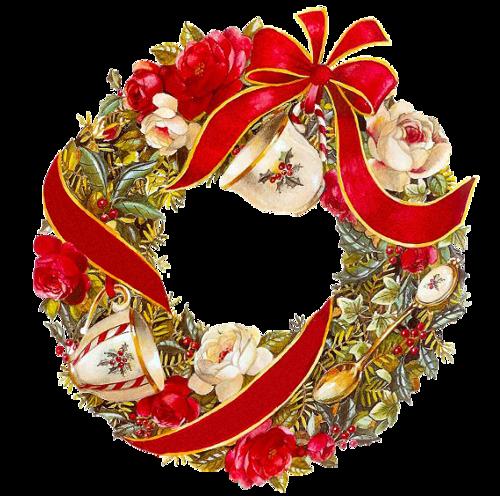 Венок из еловых веток. Рождественские венки