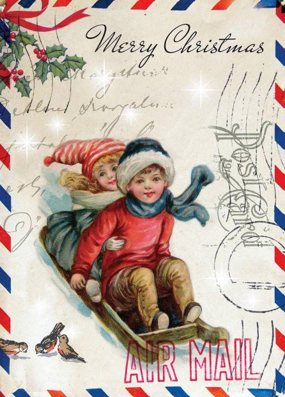 Рождественский постер. Картинки на Рождество