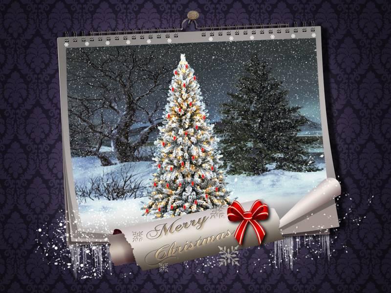 Рождественские картинки на рабочий стол