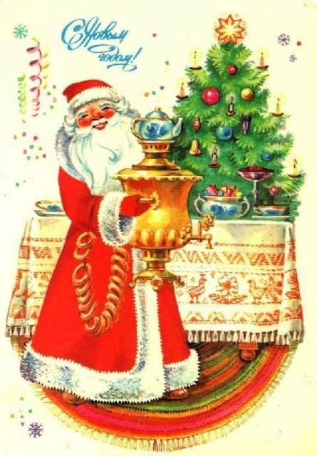 Старая добрая открытка. Советские новогодние открытки