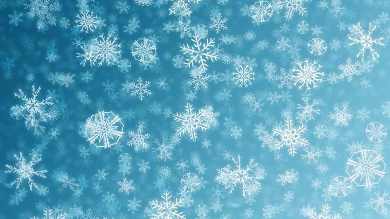 Снежинки на рабочий стол. Новогодние обои на рабочий стол
