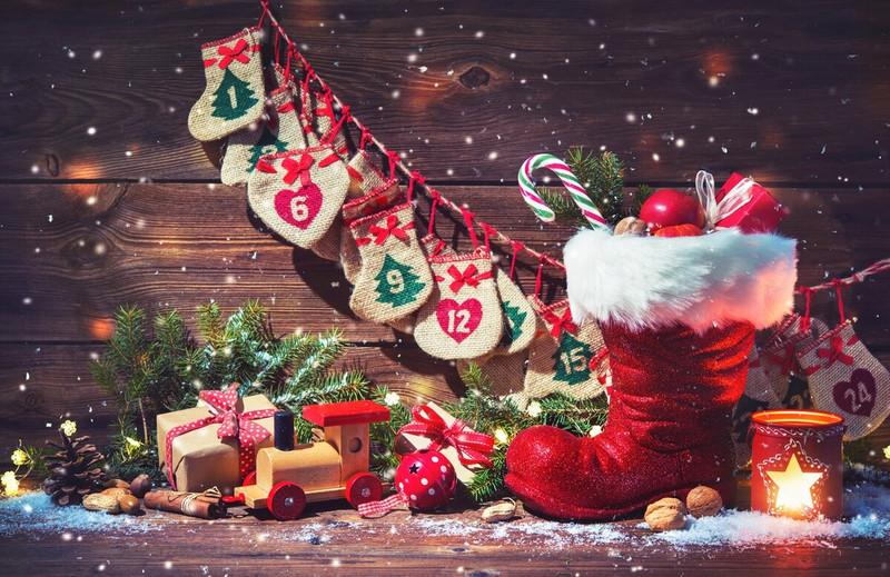 Обои С Новым годом и Рождеством 2017. Новогодние обои на рабочий стол