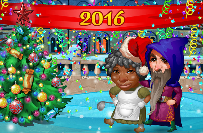 Смешные новогодние картинки 2016