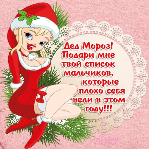 Письмо Деду Морозу. Прикольные новогодние картинки