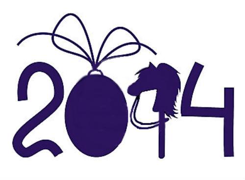 картинки 2014 год. С Новым Годом лошади
