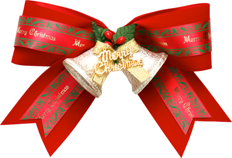 Клипарт Рождественский колокольчик. Клипарт новогодний