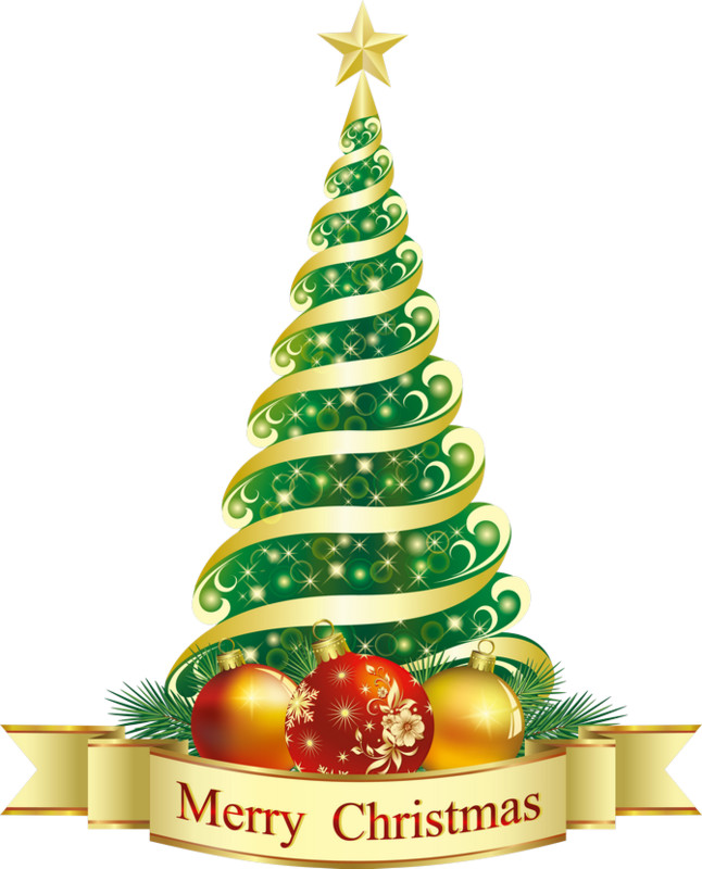 Merry Christmas. Клипарт новогодний