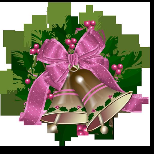 Новогодние колокольчики. Клипарт новогодний