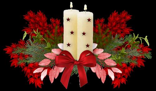 Рождественский кластер. Клипарт новогодний
