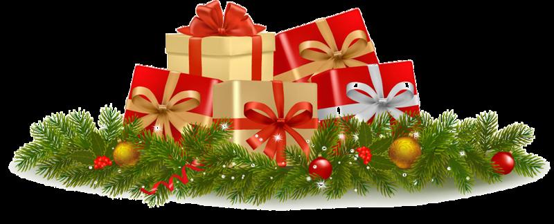 Подарки на новый год пнг