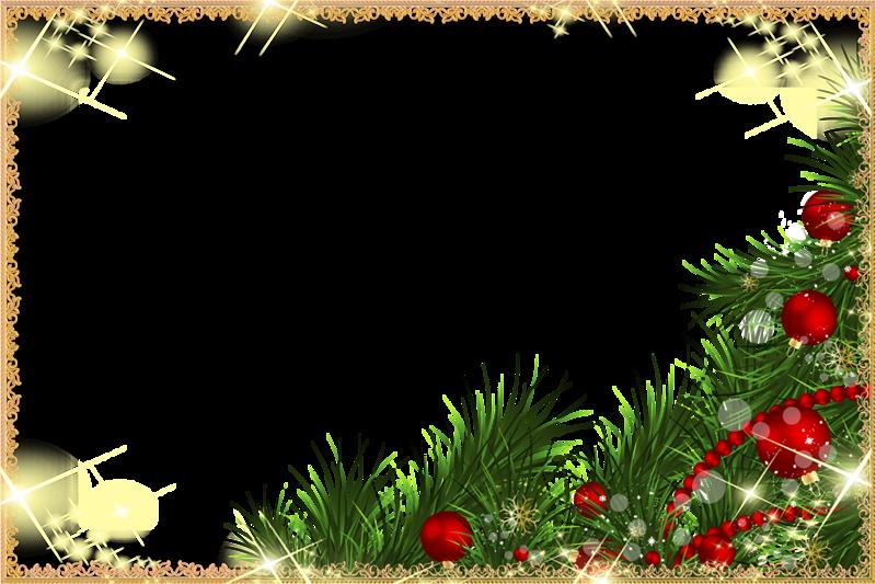 Новогодние рамки 2016. Клипарт новогодний