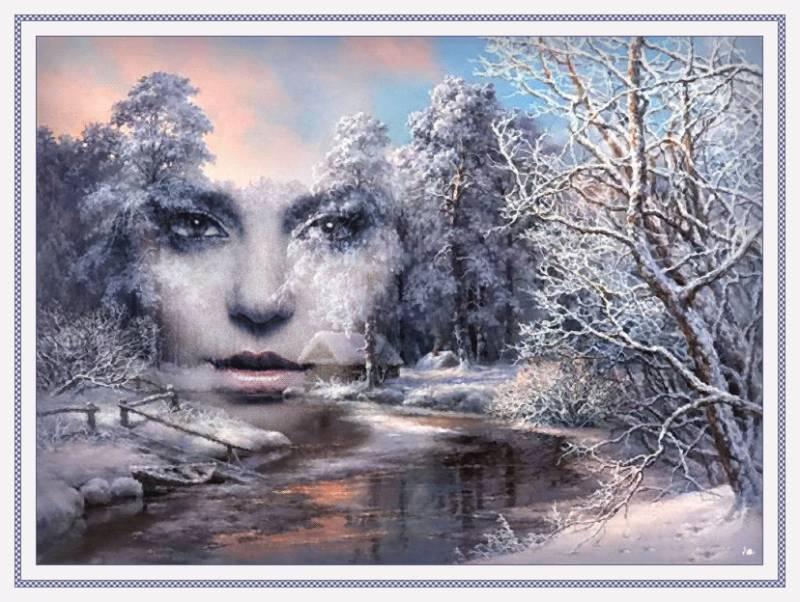 Лицо зимы. Картинки зима