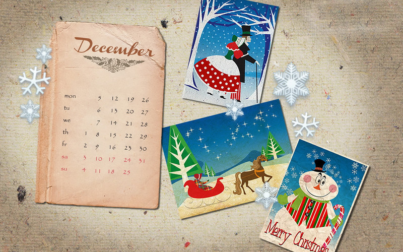Новогодний календарь. Новогодний календарь 2018