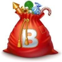Подарки Вконтакте новогодние. Маленькие картинки к Новому году