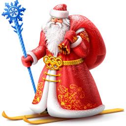 Дед мороз вконтакте. Маленькие картинки к Новому году