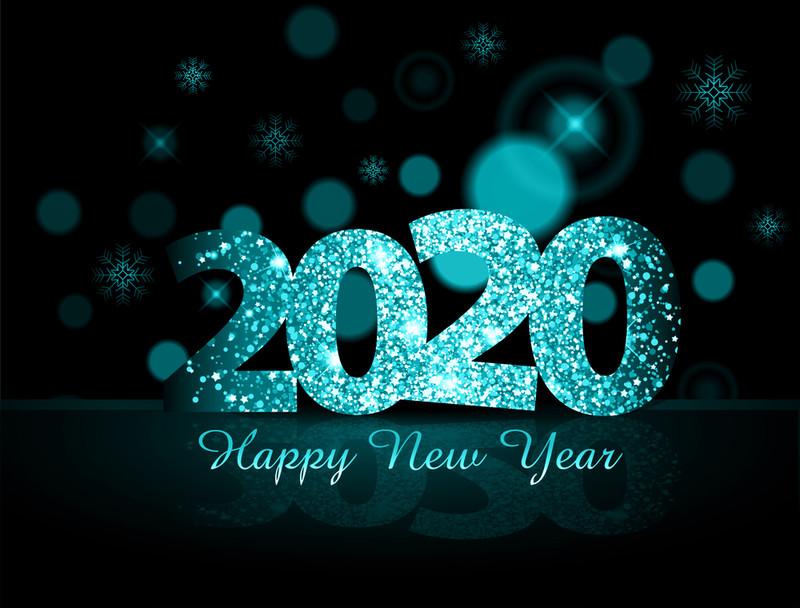 Новогодняя надпись 2017