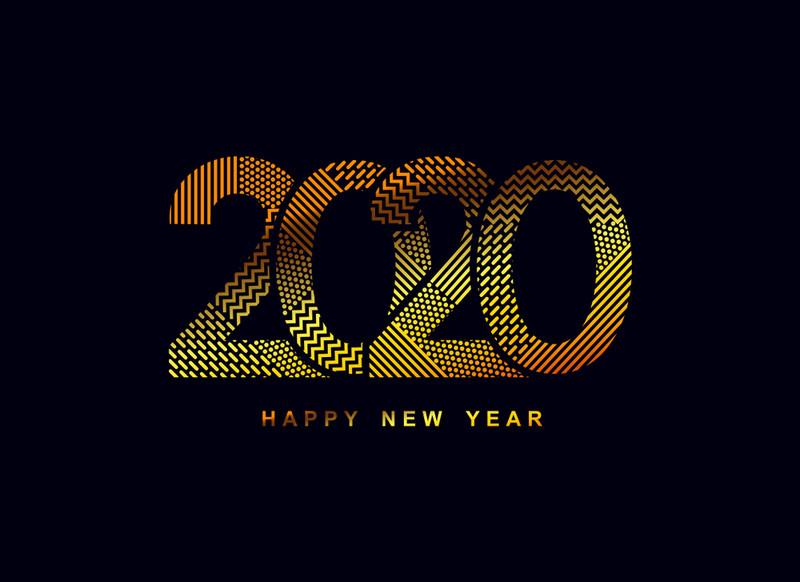 2017 Happy New Year. Новогодние надписи 2017