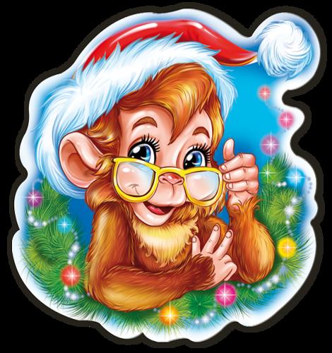 Новогодние рисунки 2016 года. Картинки с символом 2018 года