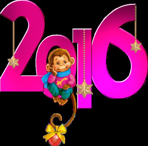 Обезьяна 2016. Картинки с символом 2017 года