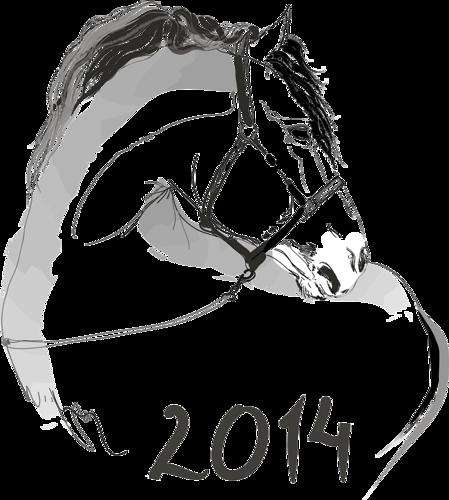 Рисунок карандашом с лошадью 2014