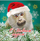 Аватар с обезьяной в колпаке