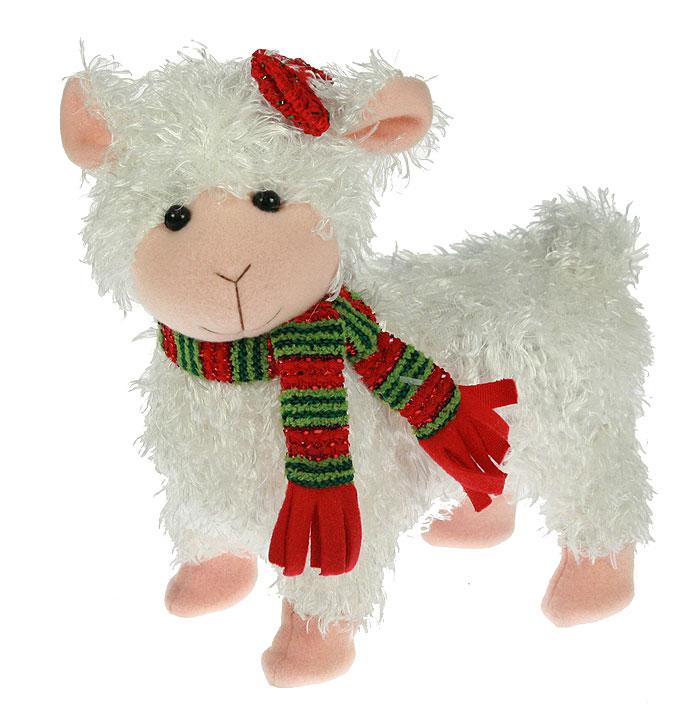Игрушечная овечка символ 2015 года