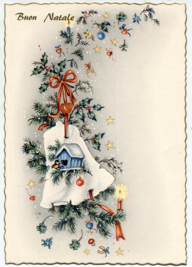 Прибалтийские новогодние открытки 3