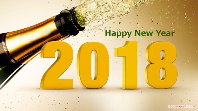 Happy New Year 2018. С Новым годом собаки