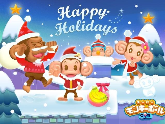 Картинки обезьян к Новому году. С Новым Годом обезьяны 2016