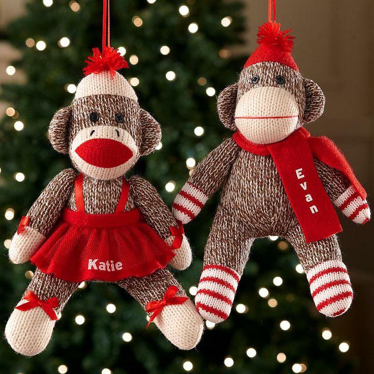 Новогодние обезьянки