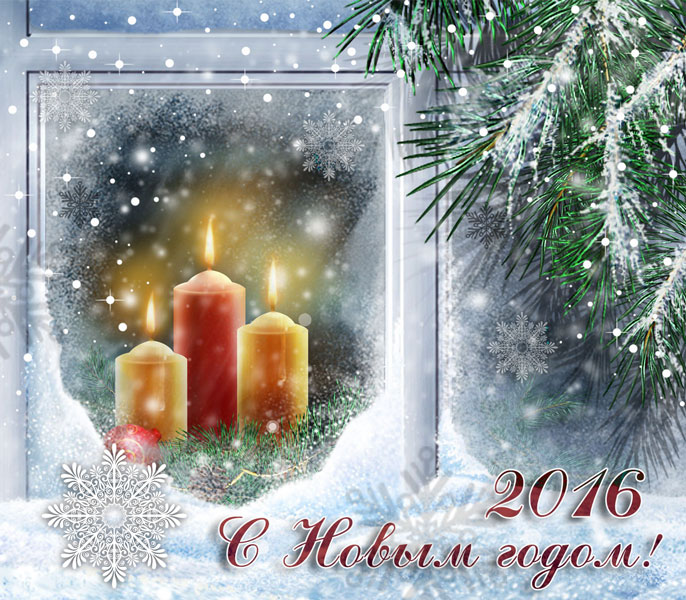 2016 с Новым годом!. С Новым Годом обезьяны 2016