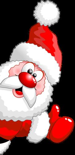 Дед Мороз за угом. Дед Мороз и Снегурочка картинки