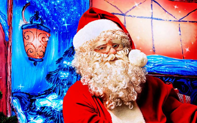 Hовогодний дед мороз. Дед Мороз и Снегурочка картинки