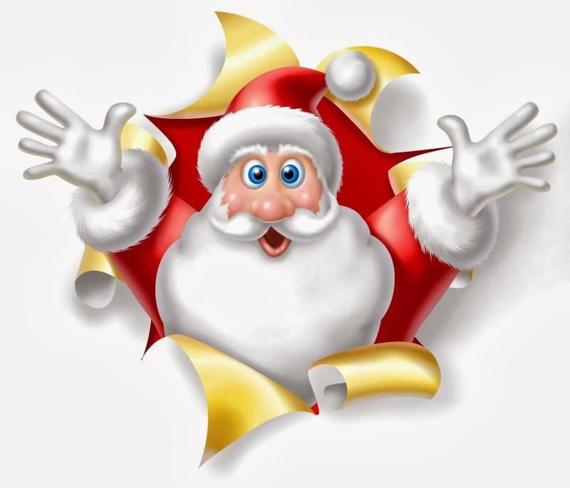 Детский дед мороз. Дед Мороз и Снегурочка картинки