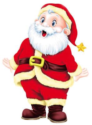 Удивлённый Дед Мороз