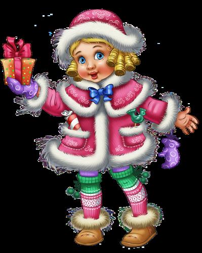 Девочка-Снегурочка. Дед Мороз и Снегурочка картинки